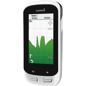 Garmin Edge Explore 1000 GPS - Compteur sans fil - fixation Aero inclus blanc/noir